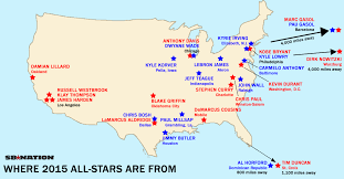 map of nba teams 5 maps and charts that explain nba all weekend sbnation com