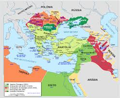 Ottoman Empirr The Ottoman Empire To Its Greatest Extent 1245 1024 Mapporn