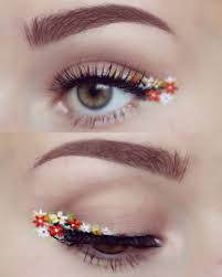 Eyeliner Halloween Makeup by Flowers Everywhere Finishing Touches Pinterest Flowers