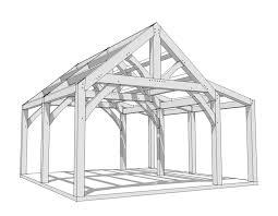 a frame plans 20x20 timber frame plan timber frame hq
