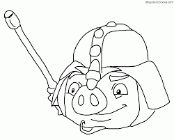 birds star wars 2 coloring pages pigs
