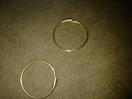earring pierced 14k self piercing hoop earrings collectors weekly