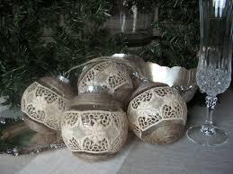 diy burlap u0026 lace christmas ornament under the mistletoe