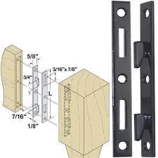 Wooden Bed Frame Parts Woodtek 160553 Hardware Furniture Bed Hardware 5