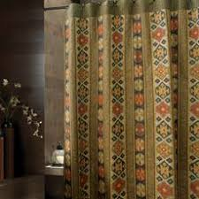 Bed Bath And Beyond Pueblo Croscill Caribou 70 Inch W X 72 Inch L Fabric Shower Curtain