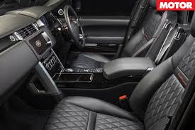ford range rover interior 2018 range rover line up confirmed for australia motor