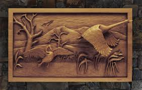 custom wood carving custom relief woodcarving
