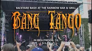 bang tango backyard bash rainbow bar u0026 grill in hollywood ca