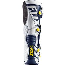 fox racing motocross boots fox comp 5 se boot white yellow 2016 mxweiss motocross shop