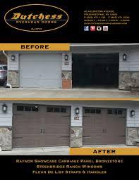 Dutchess Overhead Door Garage Door Before And After Dutchess Overhead Doors