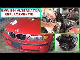 bmw 325i alternator bmw e46 alternator removal and replacement 320i 323i 325i 328i