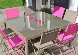 chaise et table de jardin pas cher conseil aménager un jardin à prix mini sur maginea com