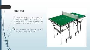 Table Tennis Dimensions Table Tennis Height Of Net Brokeasshome Com