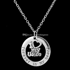 heart ring necklace images Wholesale forever in my heart ring necklaces family member life of jpg