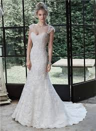 detachable wedding dress straps mermaid lace wedding dress with detachable straps cap