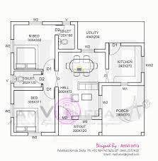 house plan below 100 sqft kerala home free plans low cost kerala