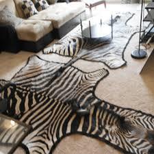 Genuine Zebra Rug Exotic South African Zebra Skin Hide Grade A Rug U2013 Exotic World By