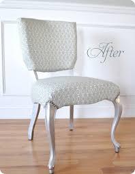 Velvet Vanity Chair Silver Leaf Vanity Chair Centsational Style