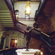 great staircase houghton hall built by sir robert walpole in