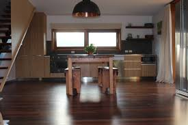 kitchen style brass hanging pendant light hardwood flooring open