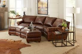 Leather Conversation Sofa Berkshire Hill Country Collection Leather Creations Furniture
