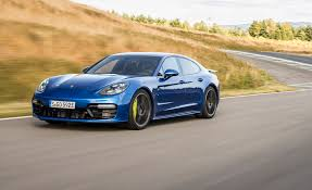 hybrid sports cars 2018 porsche panamera turbo s e hybrid first drive review car