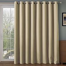Insulated Thermal Curtains Rhf Wide Thermal Blackout Patio Door Curtain Panel