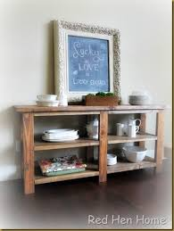 how to make a buffet table hen home buffet console table