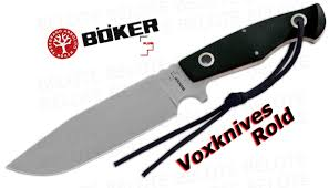 boker plus voxknives rold fixed blade with sheath 02bo272 ebay