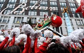 thanksgiving day parade what time faces of santa today com