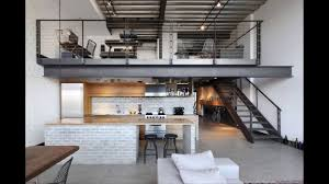 3 Stylish Industrial Inspired Loft Minimalist Industrial Loft Apartment Seattle Youtube