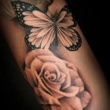 inner arm butterfly tattoos design idea