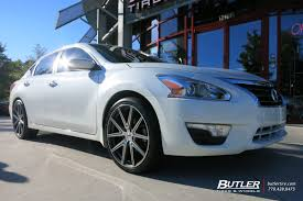 nissan altima 2016 black rims nissan altima with 20in tsw rouge wheels exclusively from butler