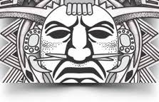 u20aa aztec tattoos u20aa aztec mayan inca tattoo designs instant download