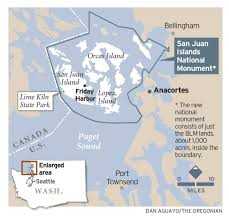 Map Of San Juan Islands The San Juan Islands Are Winning Fans Nationwide For Their Natural