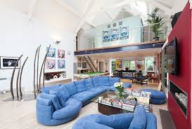 contemporary open floor plans design ideas use of color in the contemporary open floor plan