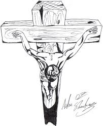 christ on the cross by aidan8500 on deviantart