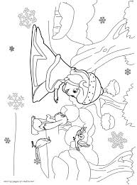 sofia coloring pages print