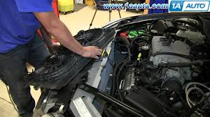 how to install replace engine radiator cooling fan 2006 12 chevy