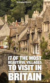 map uk villages 17 of the most beautiful villages to visit in britain