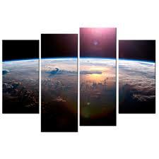 online get cheap canvas art planet aliexpress com alibaba group