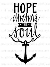 Popular Items For Love Anchors - hope anchors neat and tangled