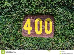 400 Feet by 400 Feet Marker In Vines Stock Photo Image 44580074