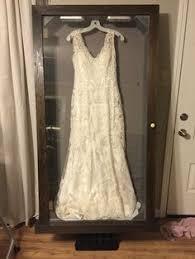 wedding dress storage framed my wedding dress in a custom shadow box i waited