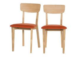 chaise cuisine noir chaise cuisine bois chaise de cuisine en bois stip lot de 2 noir