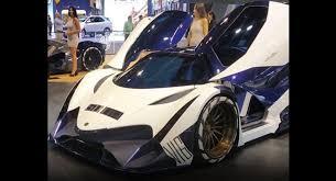 Int by Million Dollar Baby Devel Sixteen Hypercar Debuts At Dubai Int U0027l