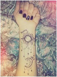 35 stunning sun and moon tattoos