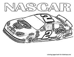 race car color pages funycoloring