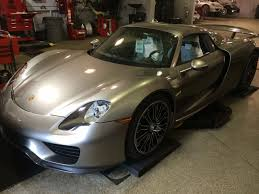 one of the first customer delivery 2015 porsche 918 spyders in the