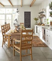 pottery barn kitchen island pottery barn farmhouse kitchen wood dining table remarkable